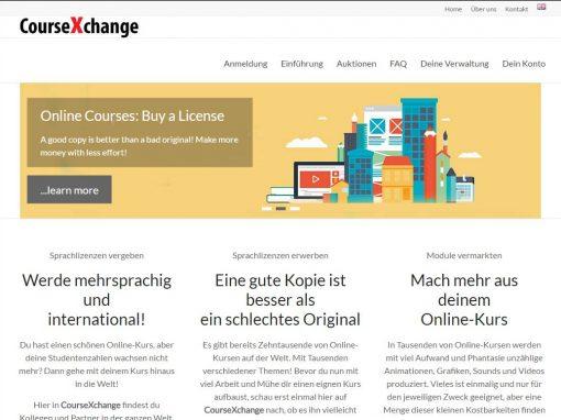 CourseXchange: Bildung für die Welt